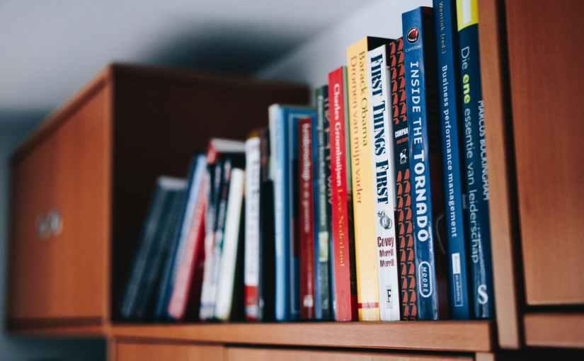 Lendo livros técnicos