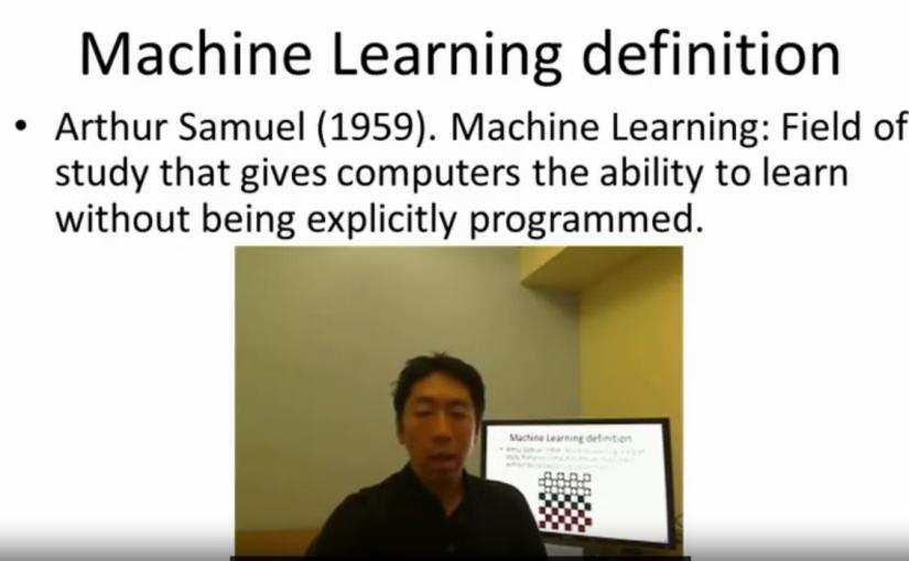(Week 1) Diário de Bordo: Curso de Machine Learning by StanfordUniversity